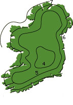 Wind over Ireland