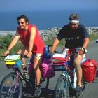 Fahrradfahren in Donegal